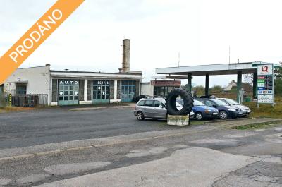 Prodej komerčních prostor, autosalon, servis, čerpací stanice